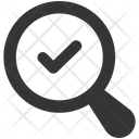 Searching Check Mark Done Icon