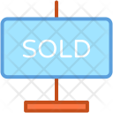 Property Sold Signage Icon