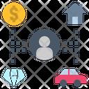 Property Ownership Estate Icon
