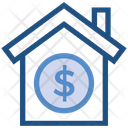 Property Home Dollar Icon