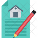 Property Papers Contract Icon
