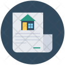 Property Papers Mortgage Icon