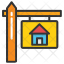 Property Board Sign Icon