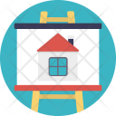 Property Advertising House Icon