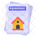 Property Agreement Icon
