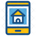 Online Property Mobile Icon