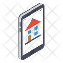 Property Application Home App Online Housing Agency Icon