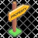 Road Board Sign Board Direction Board Icon