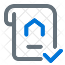Property Certificate Icon