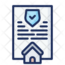 Property Certificate Property Document Property Contract Icon