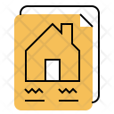 Contract Construction House Icon