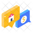 Property Conversation Property Communication Property Discussion Icon