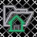 Folder Home Files Icon