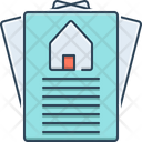 Property Paper Property Paper Icon