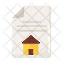 Property Papers Property Contract Real Estate Agreement Icon