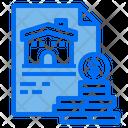 Money File House Icon