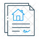 Property Document Property Papers Property Contract Icon