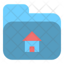 Folder House Project Icon