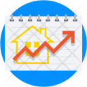Property Value Graph Icon