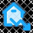 Arrow Statistics Price Down Icon
