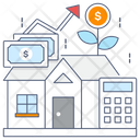 Real Estate Investment Property Investment Ownership Icon
