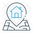 Property Location Real Estate Location Property Address Icon