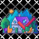 Property Market Transaction Search Buy Icon