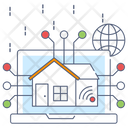 Property Network House Network Building Network Icon