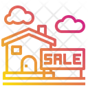 House Sale Buildings Icon