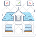 Choose Home House Selection Relocation Icon