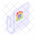 Property Paper Property Document Estate Document Icon
