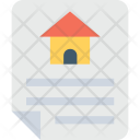Property Paper Mortgage Icon