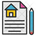 Pen Documents Concept Icon