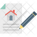 Property Contract Estate Agreement Icon