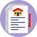 Property Papers Real Estate Contract Property Documents Icon
