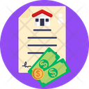 Property Papers Property Documents Real Estate Contract Icon