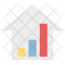 Bar Graph Progress Chart Infographics Icon