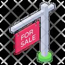 Property Sale Board Icon