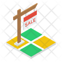 Property Sale Tag Land For Sale Property Sale Emblem Icon