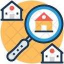 Search House Property Icon