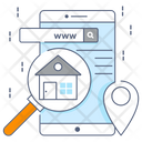 Search Building Property Search House Search Icon
