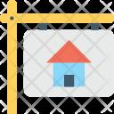 Property Signboard Signage Icon