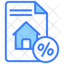 Property Tax Property Cost House Value Icon