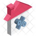 Home Percentage Sign Property Value Icon