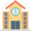 Building Dollar Real Estate Icon