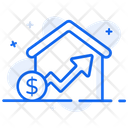 House Value House Cost Property Cost Icon