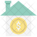 Building Real Estate House Value Icon