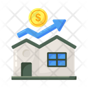 Property Value Increase House Cost Property Cost Icon