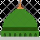 Prophets Mosque Medina Saudi Arabia Icon