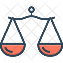 Proportion Comparison Libra Icon